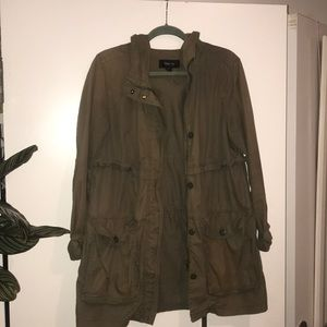 Army Green anorak jacket